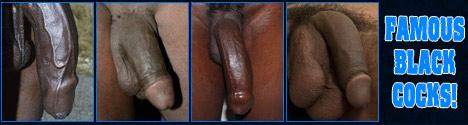 black celeb penis
