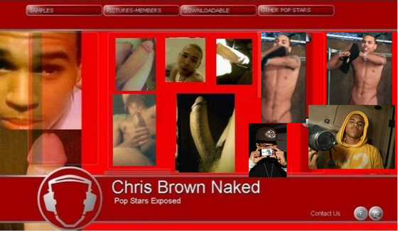 Chris Brown Naked Pics Scandal