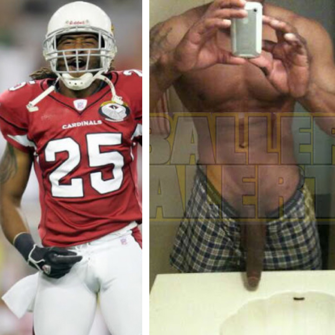 Black nfl player naked pics 524