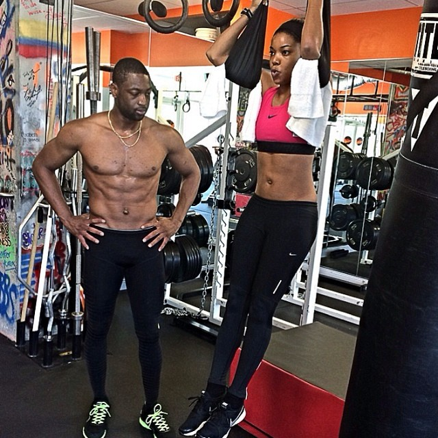 Dwayne Wade Shirtless And Bulge Pic
