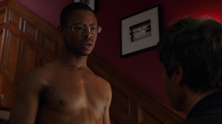 Arjay Smith Shirtless